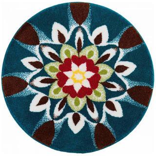 Dywan zpowłoką antypoślizgową Mandala HARMONIA