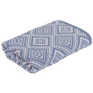 Ręcznik kąpielowy frotte Marrakech MOSAIK niebieski