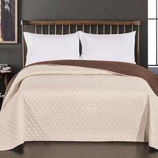 Narzuta na łóżko Axel, śmietankowa