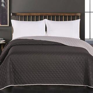 Narzuta na łóżko Axel, czarna