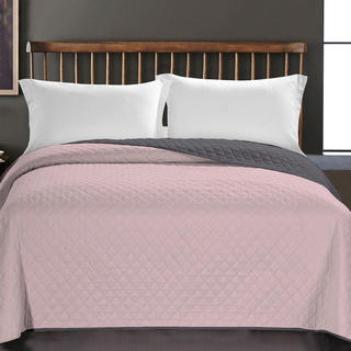 Narzuta na łóżko Axel, różowa