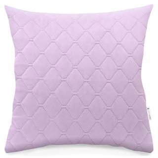 Pikowana poszewka na poduszkę Axel różowa