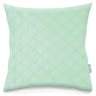 Pikowana poszewka na poduszkę AXEL mentolowa