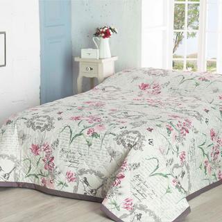 Narzuta na łóżko Valerie fioletowa, 160 x 220 cm