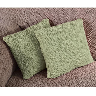 Bi-elastyczne pokrowce BUKLÉ groszkowy poszewki na poduszkę 2 szt. (40 x 40 cm)