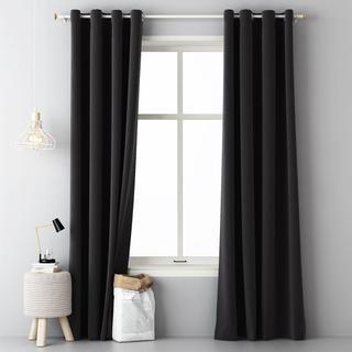 Dekoracyjna zasłona Easy czarna