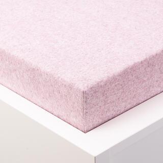Napinane prześcieradło frotte BALEJAŻ jasno różowy pastel