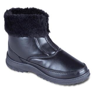 Damskie obuwie zimowe z futerkiem