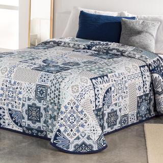 Narzuta na łóżko MIA niebieska