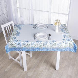 Designowy obrus CHABER niebieski 120 x 140 cm