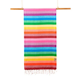 Ręcznik kąpielowy PESHTEMAL CLASSIC tęcza