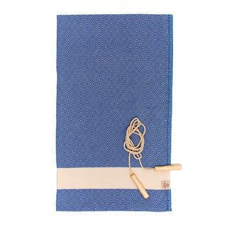 Ręcznik kąpielowy PESHTEMAL DIAMOND SPORTY niebieski