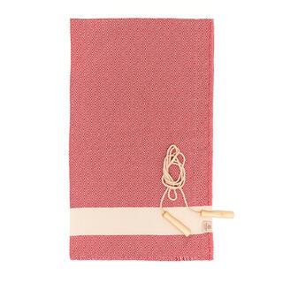 Ręcznik kąpielowy PESHTEMAL DIAMOND SPORTY czerwony