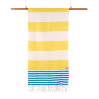 Ręcznik kąpielowy PESHTEMAL MARINE żółty