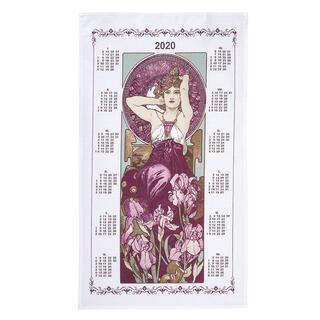 Świąteczny kalendarz - ścierka PANNA 42 x 70 cm