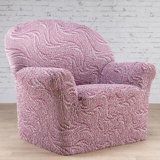 Bi-elastyczne pokrowce BRILLANTE ceglaste, fotel (sz. 60 - 110 cm)