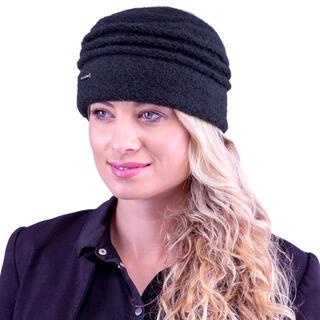 Damska czapka czarna