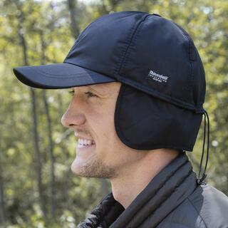 Wodoodporna czapka męska z daszkiem