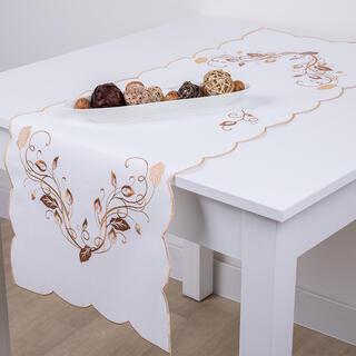 Bieżnik na stół z haftem 40 x 110 cm
