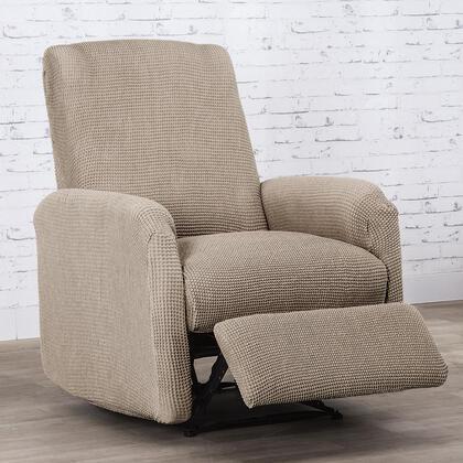 Super streczowe pokrowce NIAGARA orzeszkowe fotel relaks (sz. 70 - 90 cm)