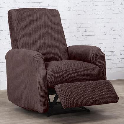 Super streczowe pokrowce NIAGARA czekoladowe fotel relaks (sz. 70 - 90 cm)