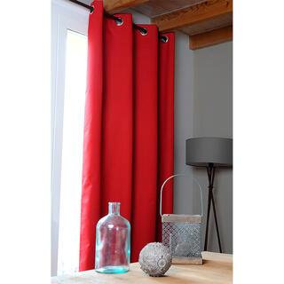 Zasłona zaciemniająca OSLO czerwona 140 x 260 cm