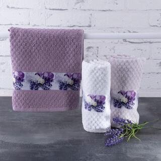 Ręczniki kuchenne frotte LAWENDA 40 x 70 cm 3 szt.