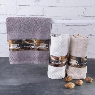 Ręczniki kuchenne frotte KAWA 40 x 70 cm 3 szt.