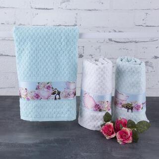 Ręczniki kuchenne frotte RÓŻE 40 x 70 cm 3 szt.