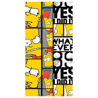 Ręcznik kąpielowy Bart THE SIMPSONS 70 x 140 cm