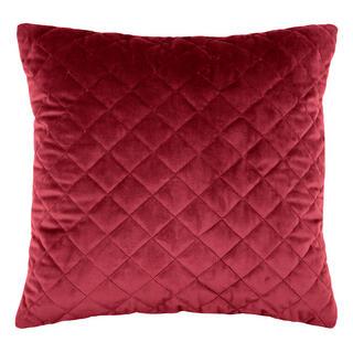 Pikowana poduszka DANAÉ BORDEAUX 40 x 40 cm