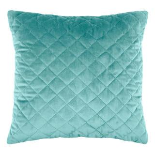 Pikowana poduszka DANAÉ JADE 40 x 40 cm