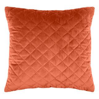 Pikowana poduszka DANAÉ TERRACOTTA 40 x 40 cm