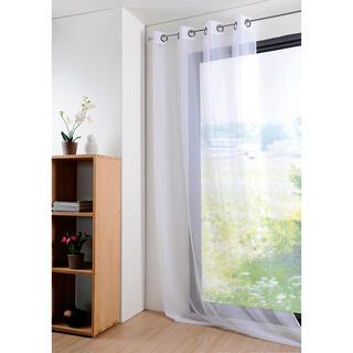 Kolorowa firana MONNA biała 135 x 260 cm
