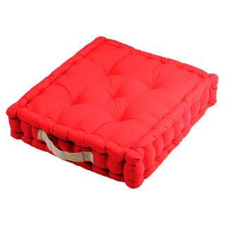 Poduszka do siedzenia na podłodze DUO UNI czerwona, 1 szt.