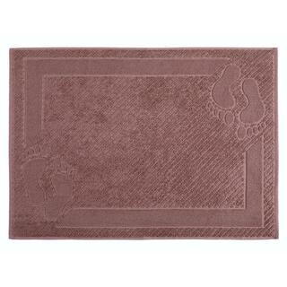 Mata łazienkowa frotte MEXICO brązowa 50 x 70 cm