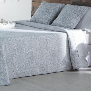 Narzuta na łóżko MALENA szara, łóżko pojedyncze