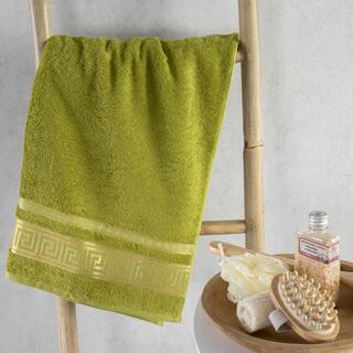 Ręcznik kąpielowy bambusowy ROMA zielony 70 x 140 cm