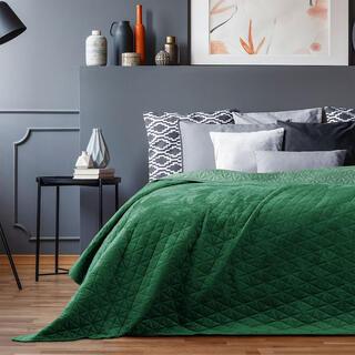 Narzuta na łóżko LAILA zielona