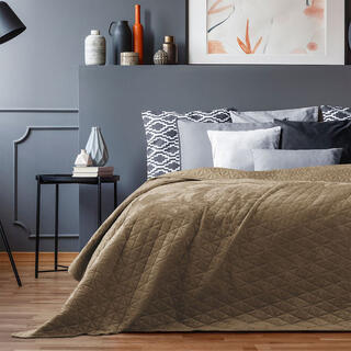 Narzuta na łóżko LAILA cappuccino