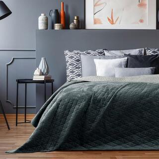 Narzuta na łóżko LAILA szara