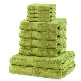 Komplet ręczników frotte MARINA kiwi 10 szt.