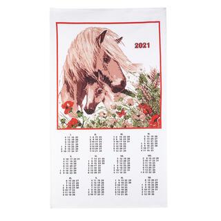 Kalendarz tekstylny Koń