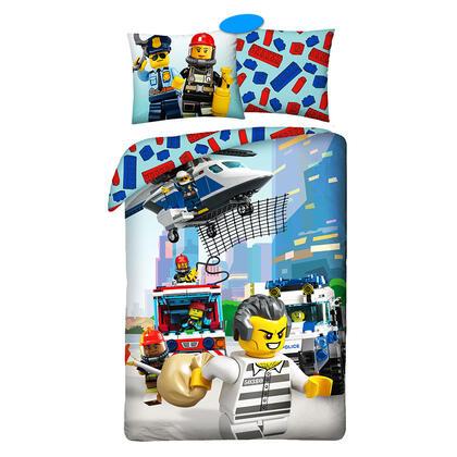 Pościel bawełniana LEGO CITY