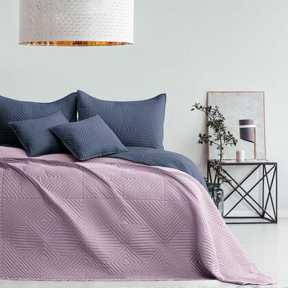 Narzuta na łóżko SOFTA mauve