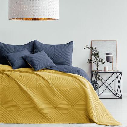 Narzuta na łóżko SOFTA miodowa