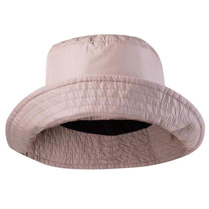 Beżowy nieprzemakalny kapelusz damski