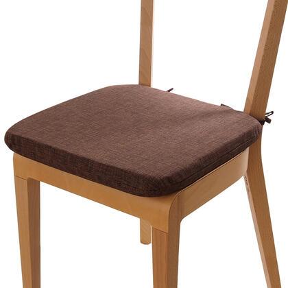 Poduszka siedzisko z możliwością prania brąz