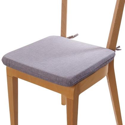 Poduszka siedzisko z możliwością prania szara
