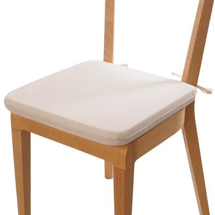Poduszka siedzisko z możliwością prania beżowa